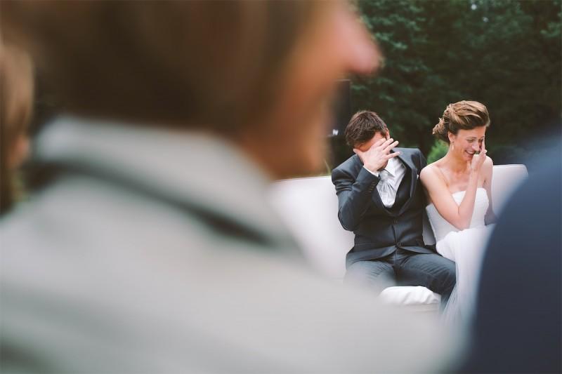 gelach huwelijksceremonie