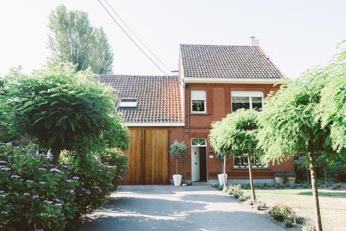 Ouderlijk huis van de bruid