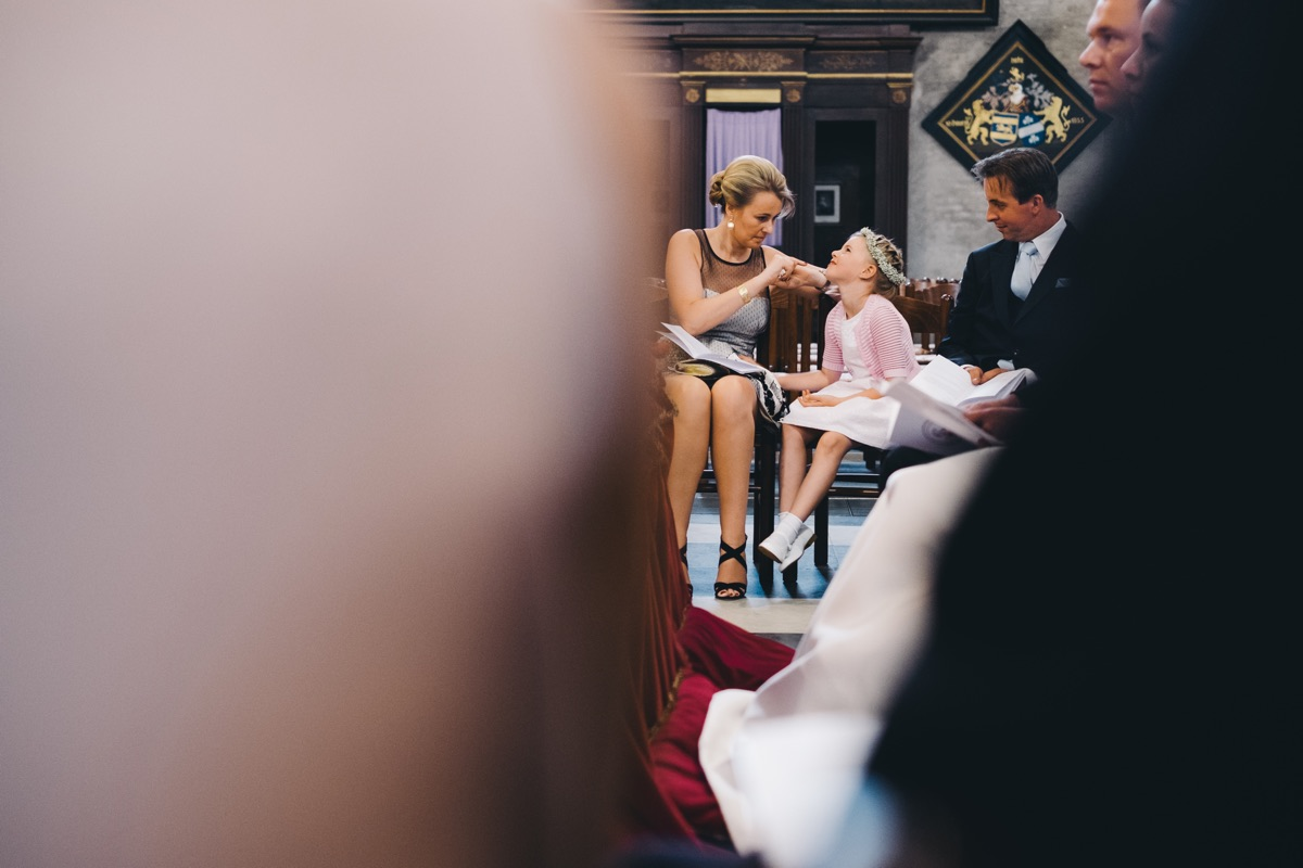 grappig bruidskindje