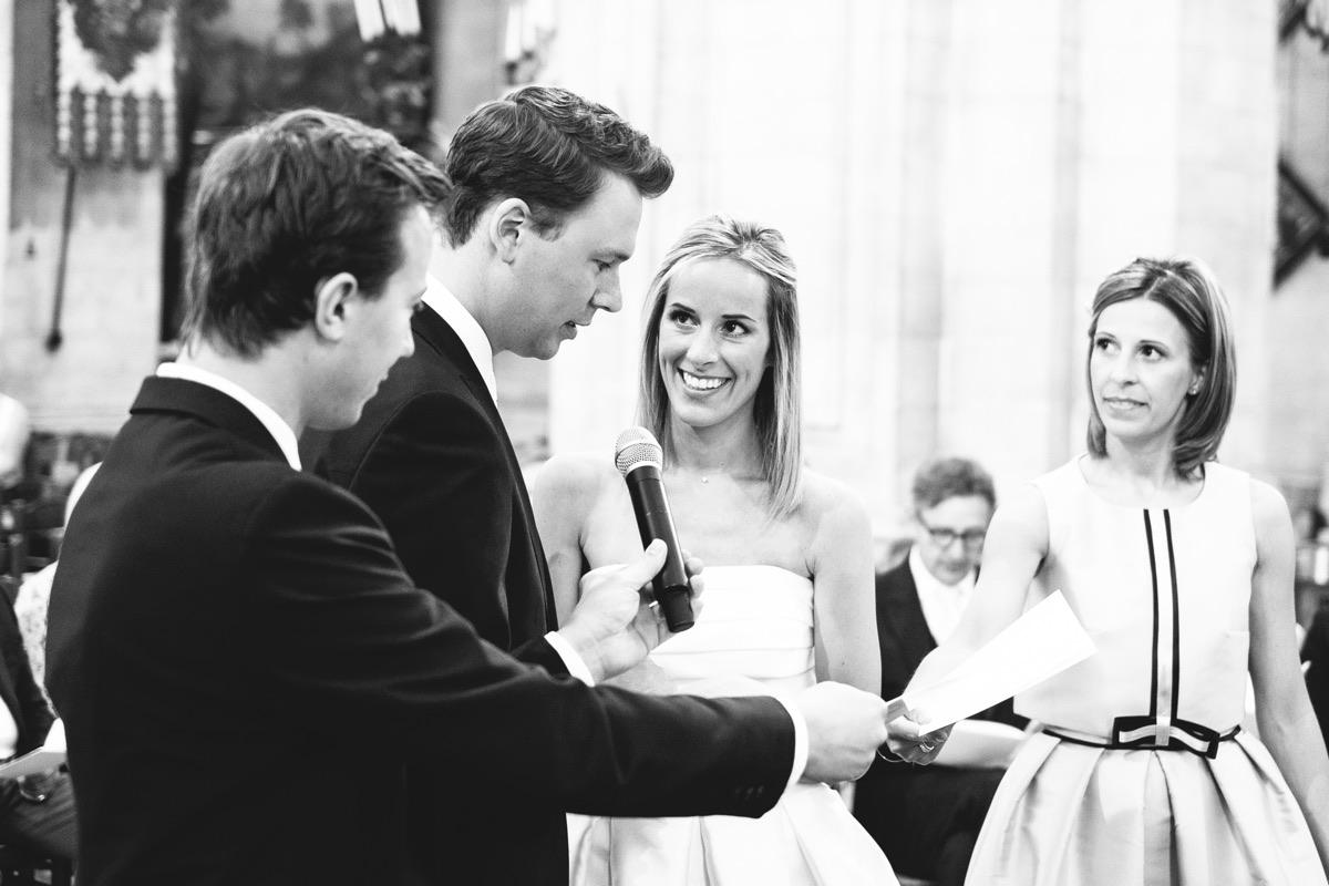 de geloftes van de bruidegom