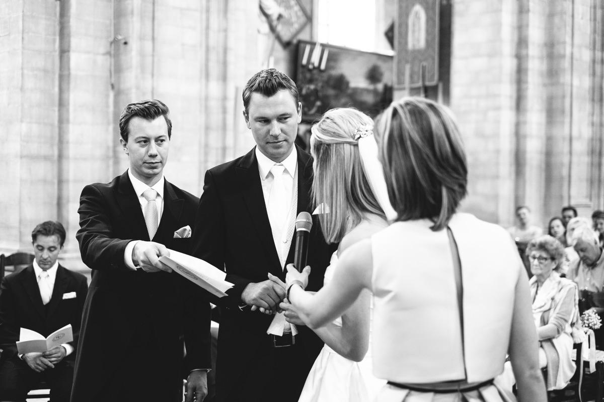 de geloftes van de bruid