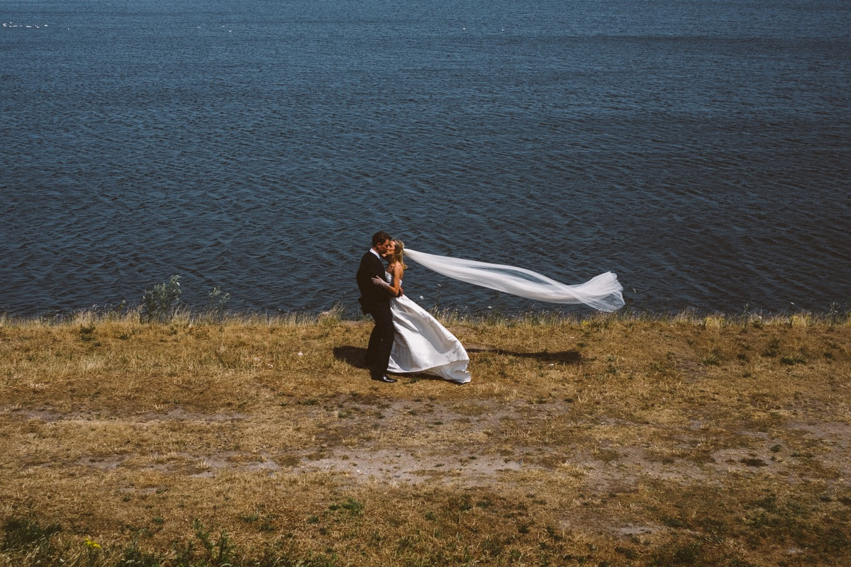 huwelijks photoshoot sluier