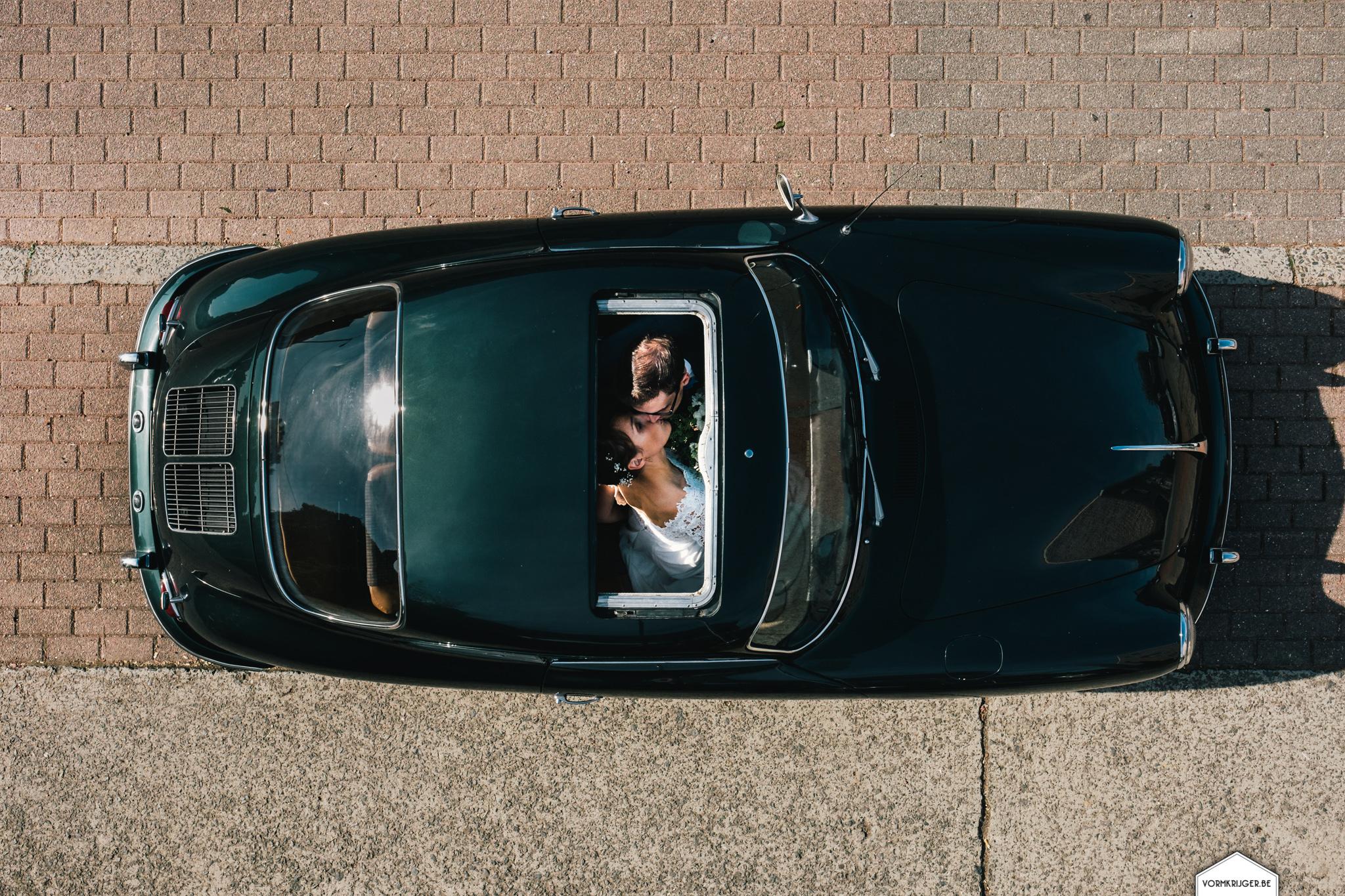 Huwelijksfoto's Porsche vormkrijger