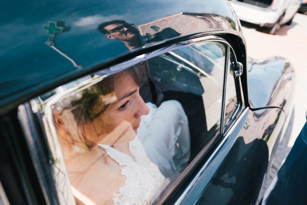 huwelijksfoto's reflectie origineel