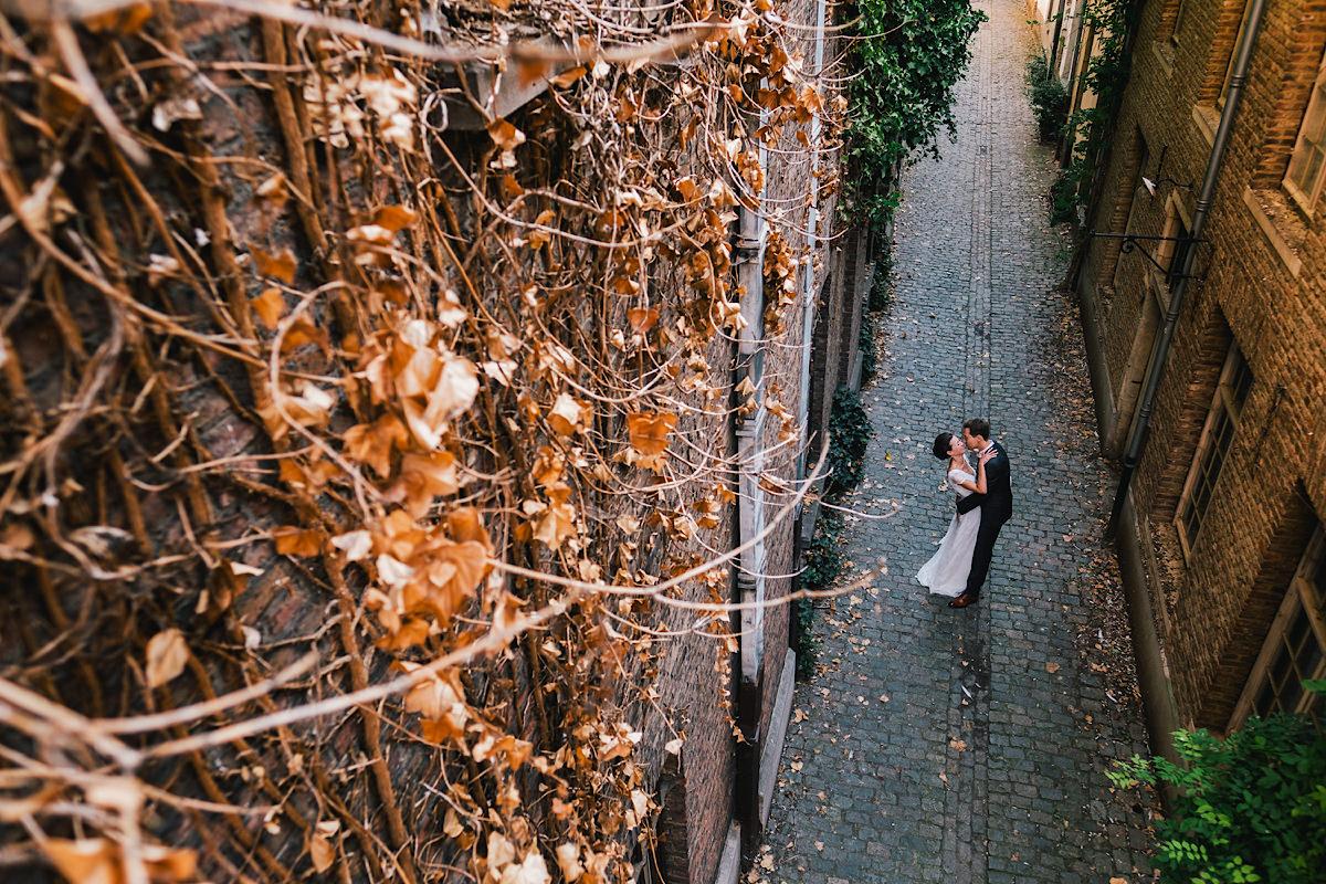 huwelijks foto's mechelen centrum Het Anker carolus