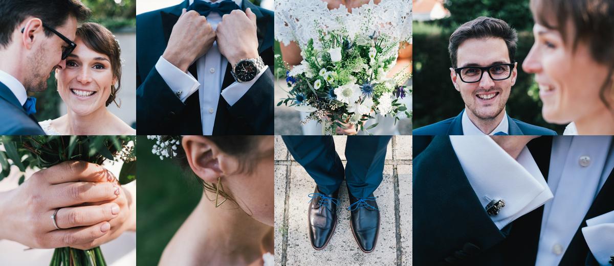 huwelijksfoto's delail foto's