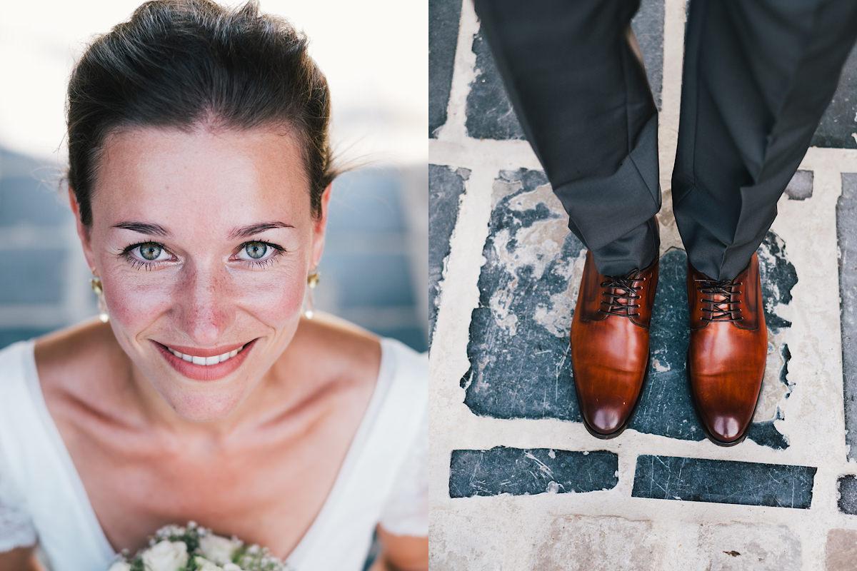 bruid huwelijks foto's portret