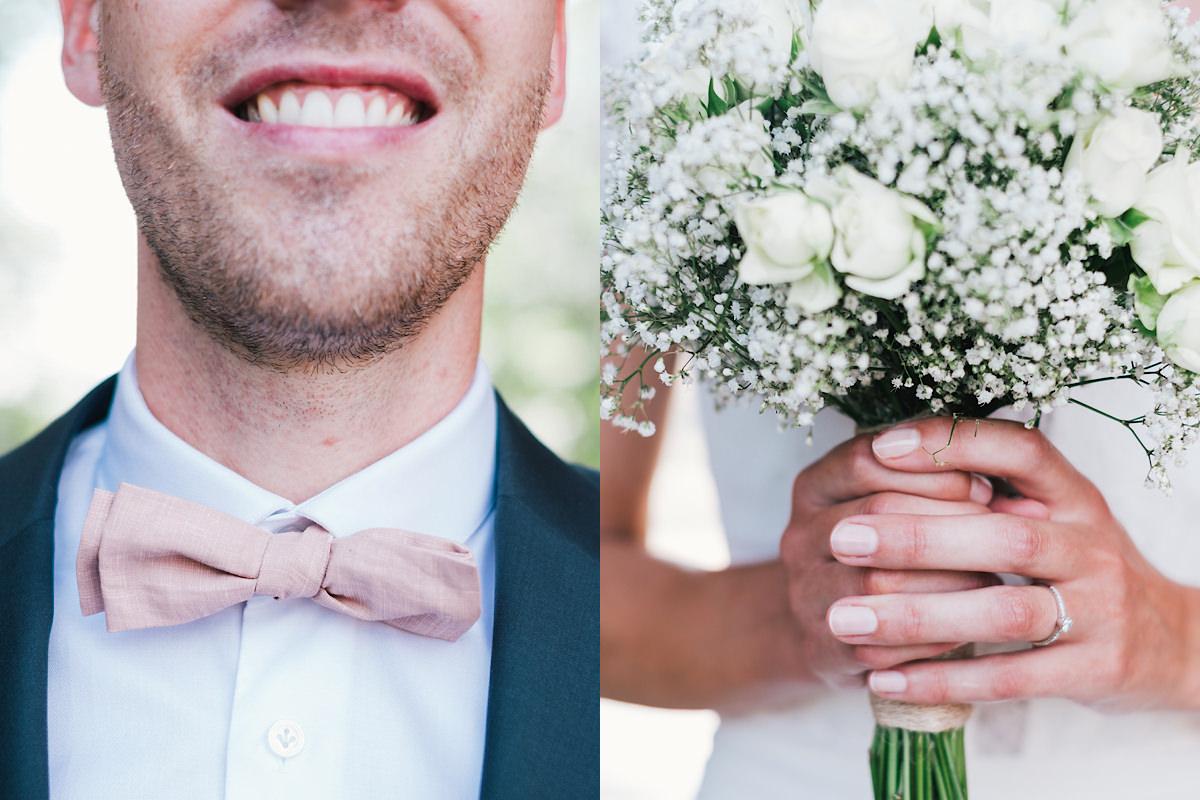 huwelijks foto's details