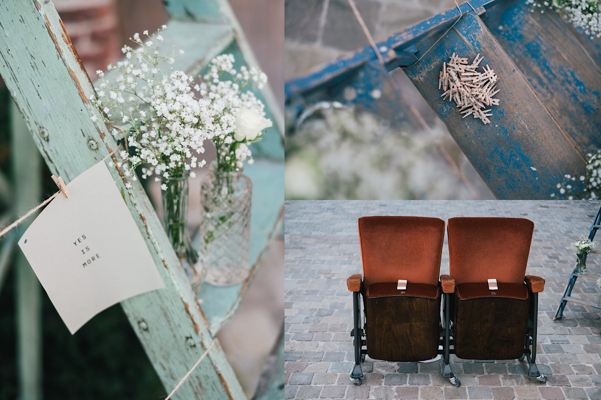 huwelijks ceremonie decoratie