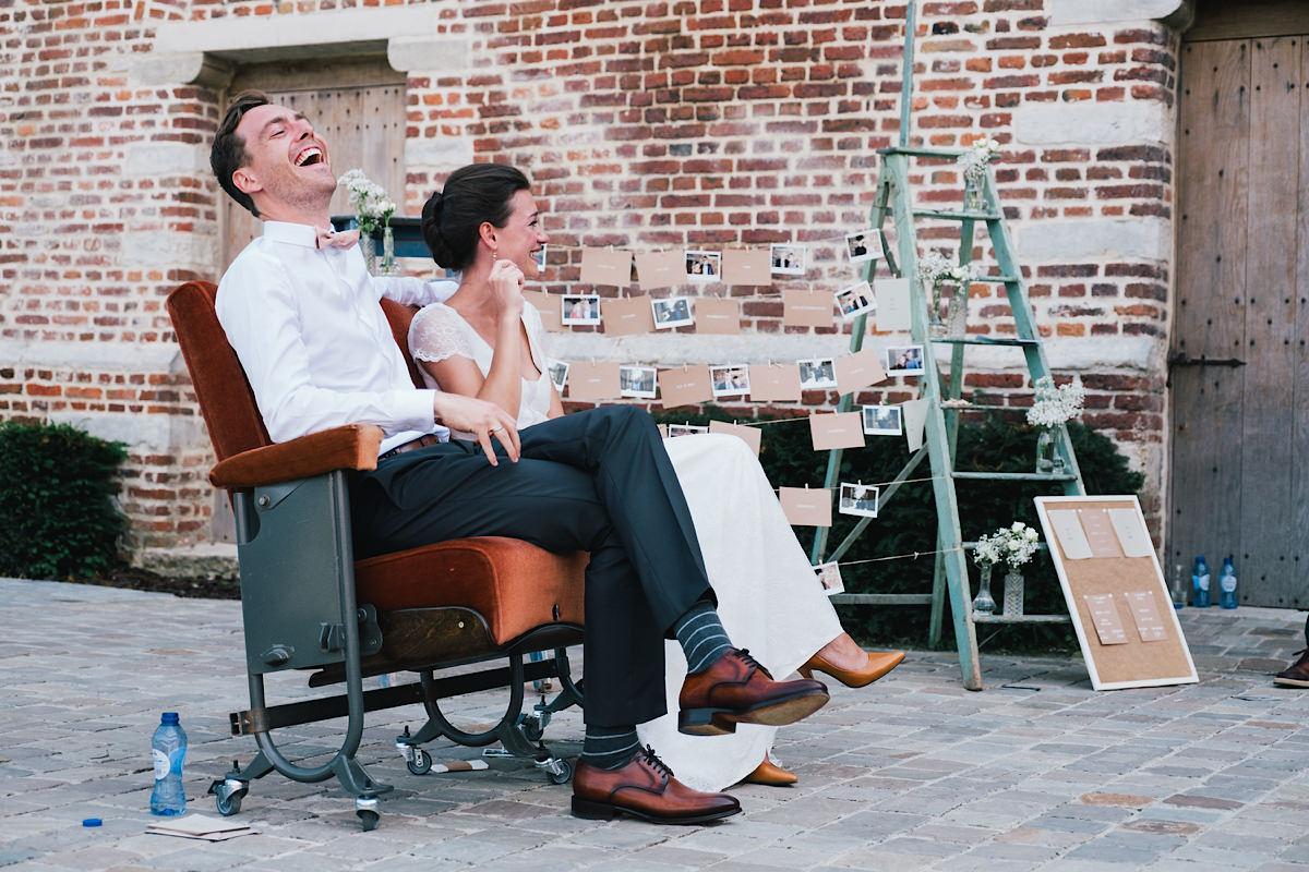 spontaan Ceremonie huwelijk