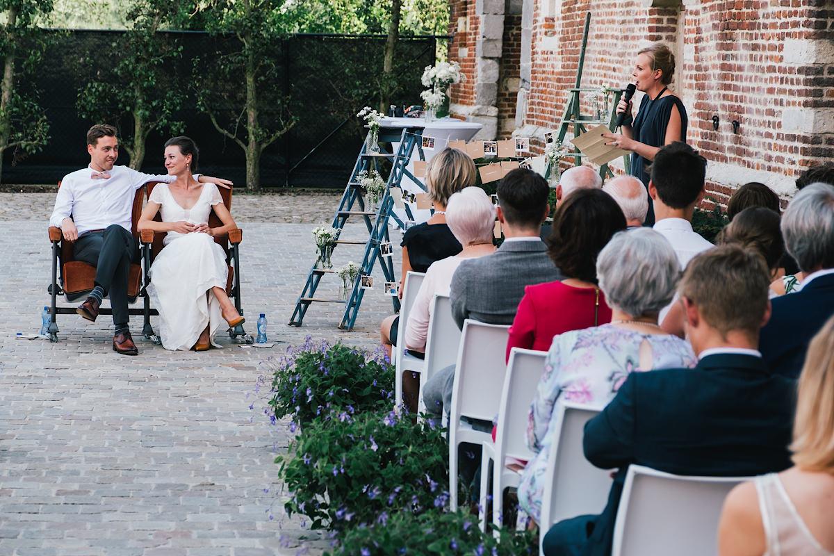 speech tijdens de Ceremonie