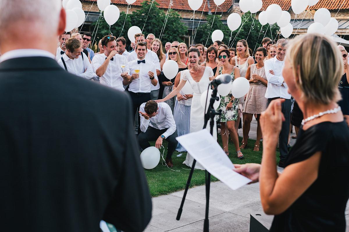 speech van de vader op het huwelijksfeest