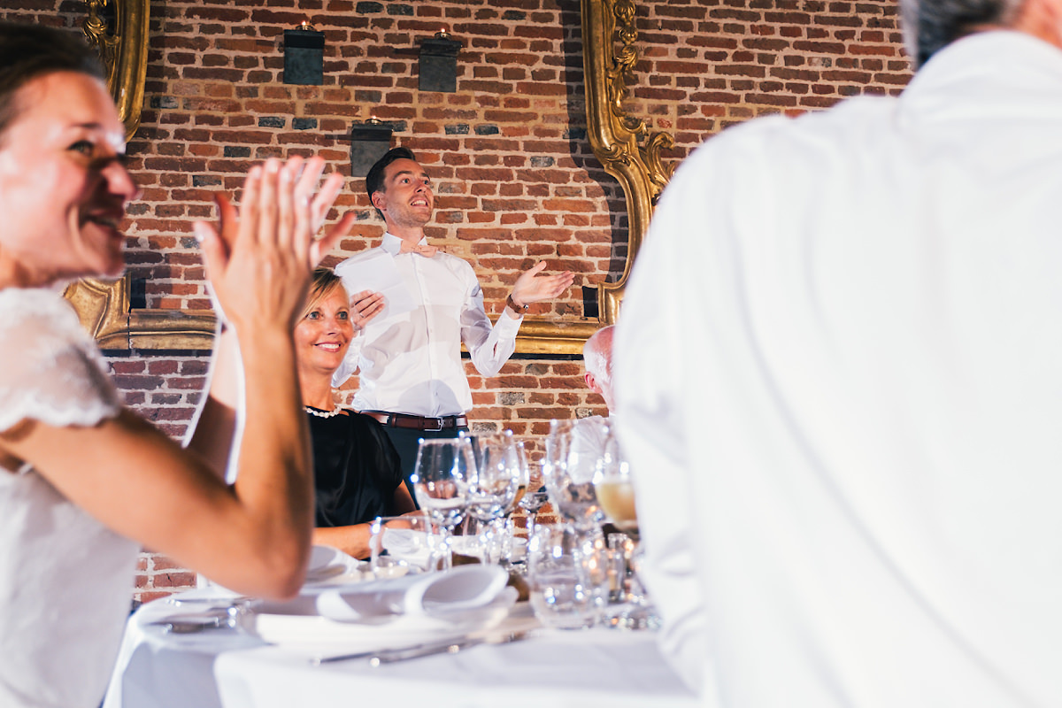speech van de bruidegom