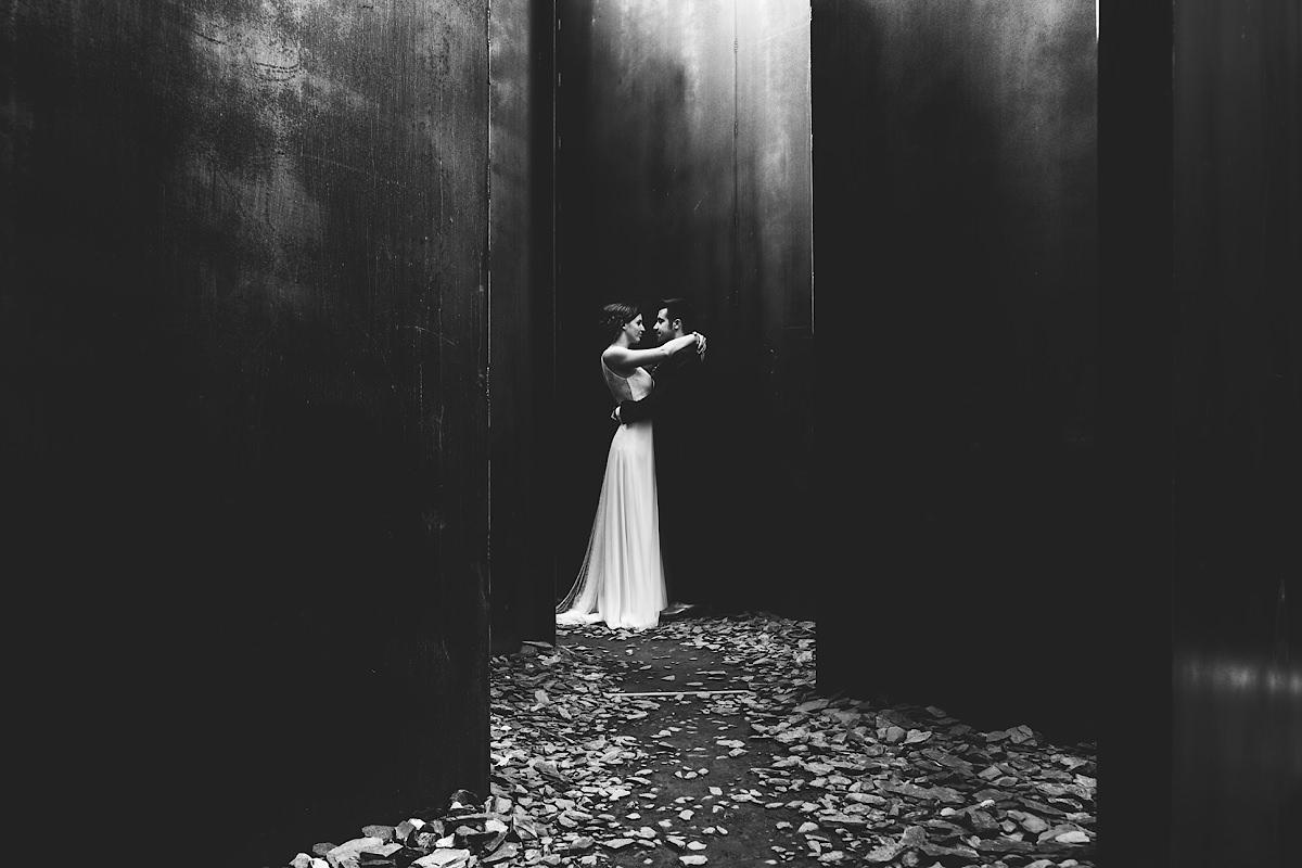 C-mine in Genk beste locatie voor huwelijksfoto's