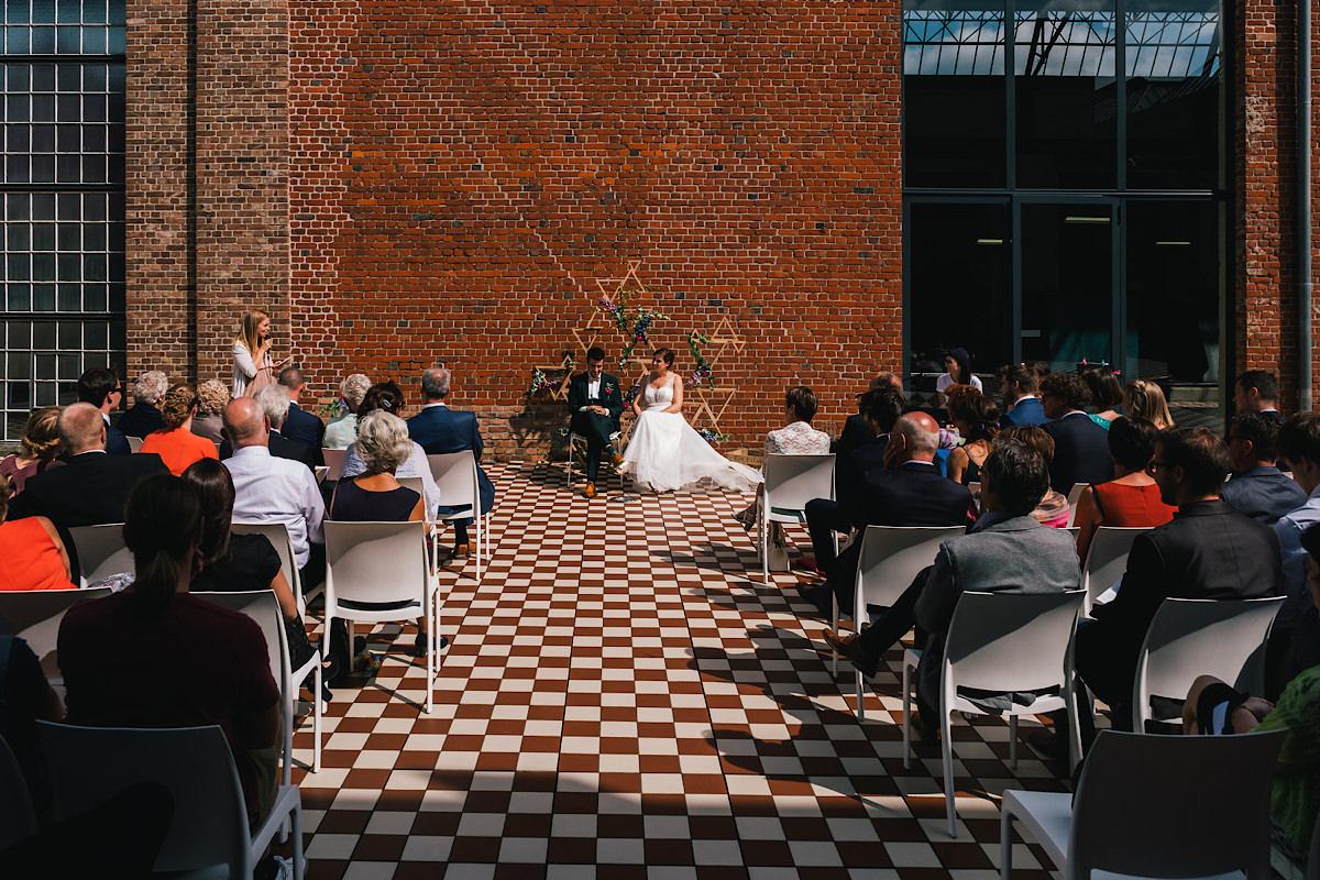 vrijzinnige Huwelijks ceremonie