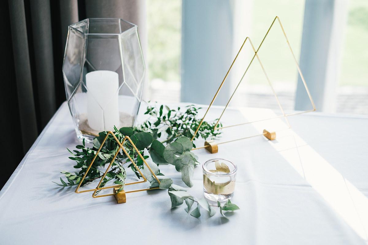 decoratie van het trouwfeest