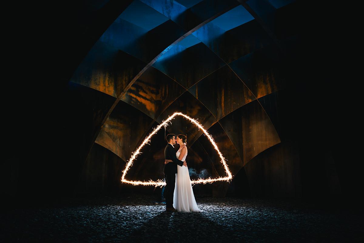 night shoot op een huwelijk