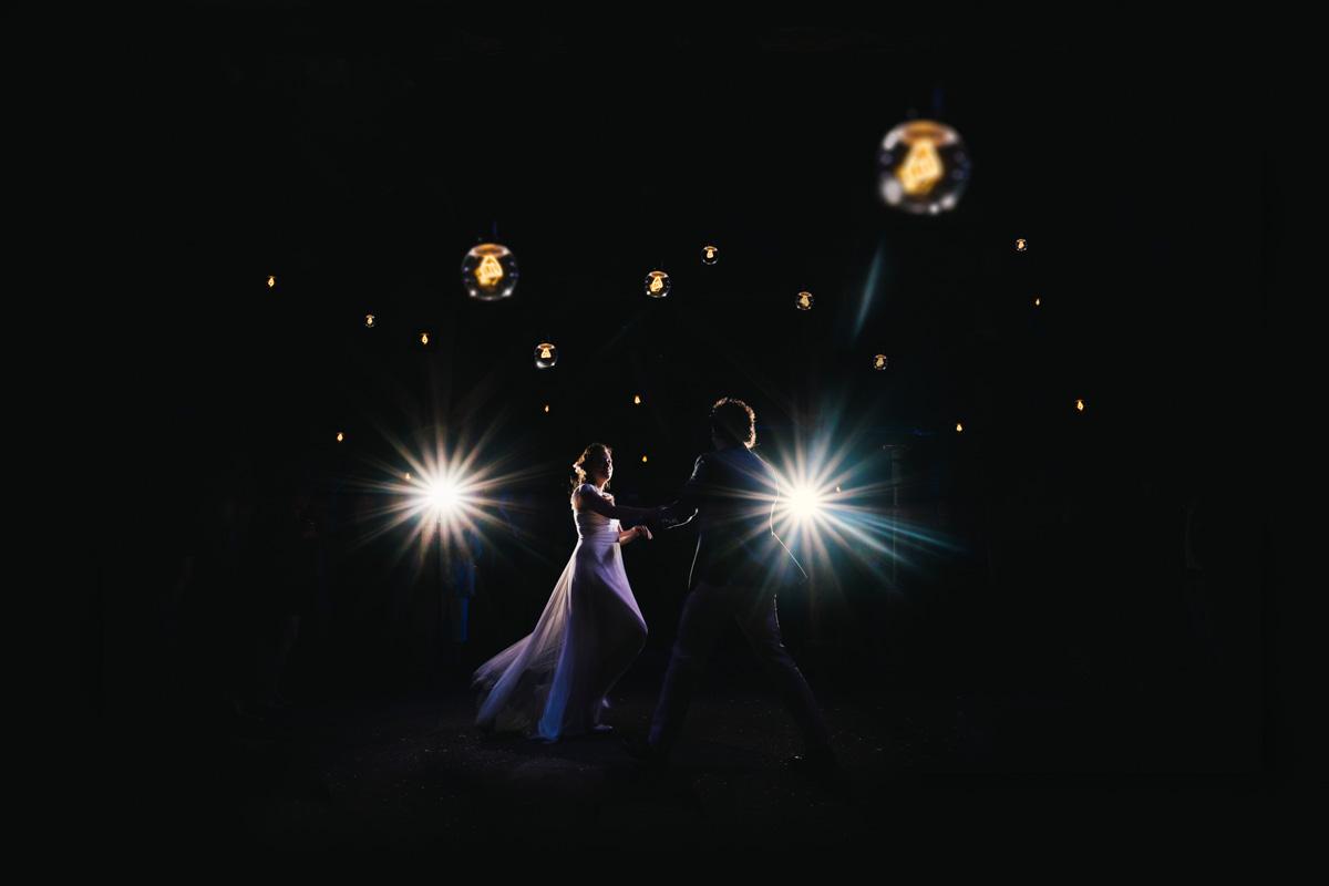 Openingsdans huwelijksfoto