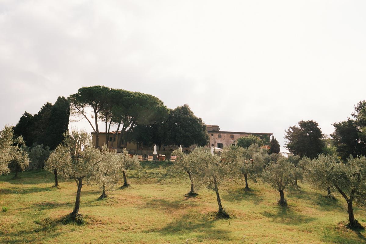 De perfecte locatie voor een huwelijksfeest in Toscane Italië.