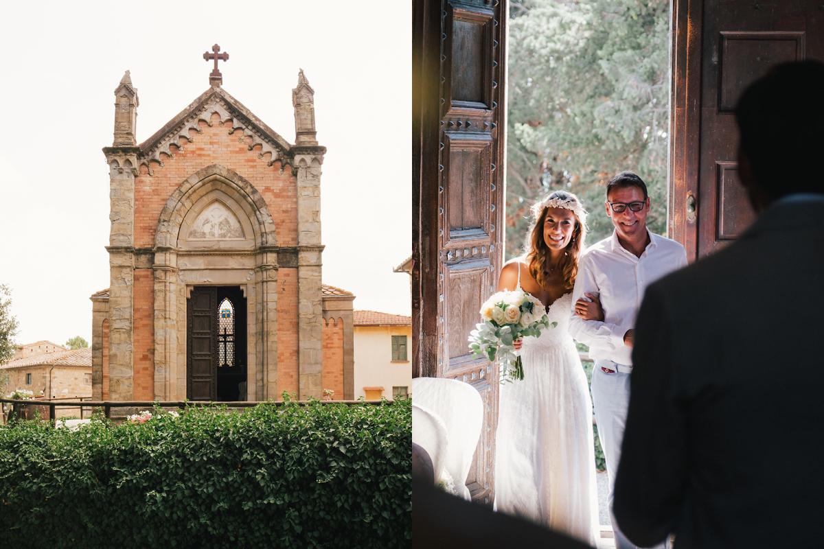 Perfecte Italië in Italië voor een huwelijksfeest met ceremonie.