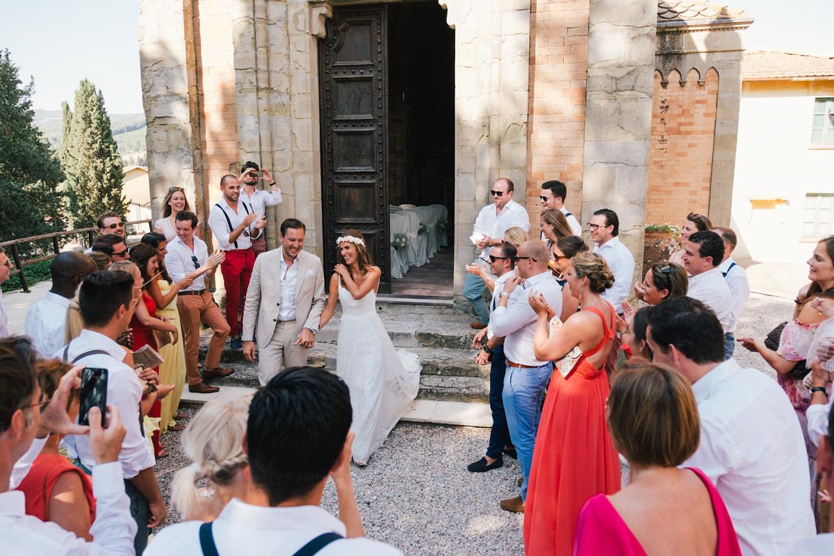 Kerkje Italië trouwfeest