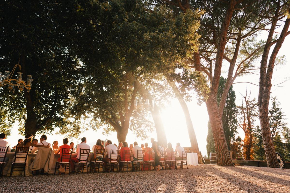 Samen tafelen Italië