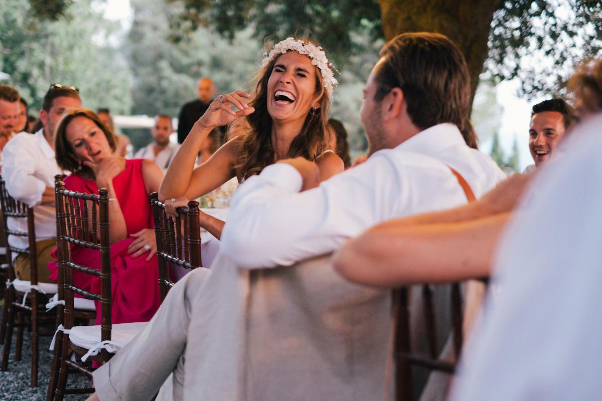 Huwelijksfeest fun speech