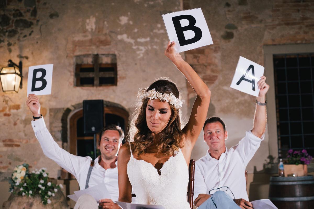 Huwelijksfeest in Italië