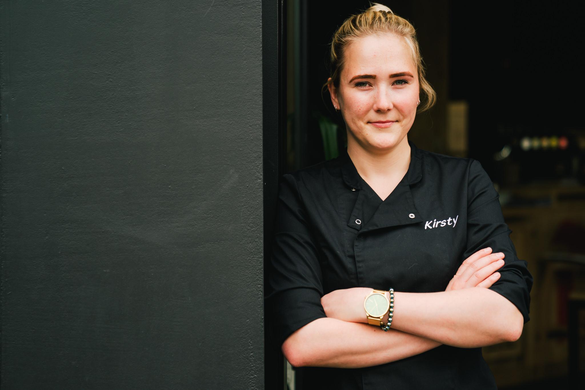 portret van de kok chef
