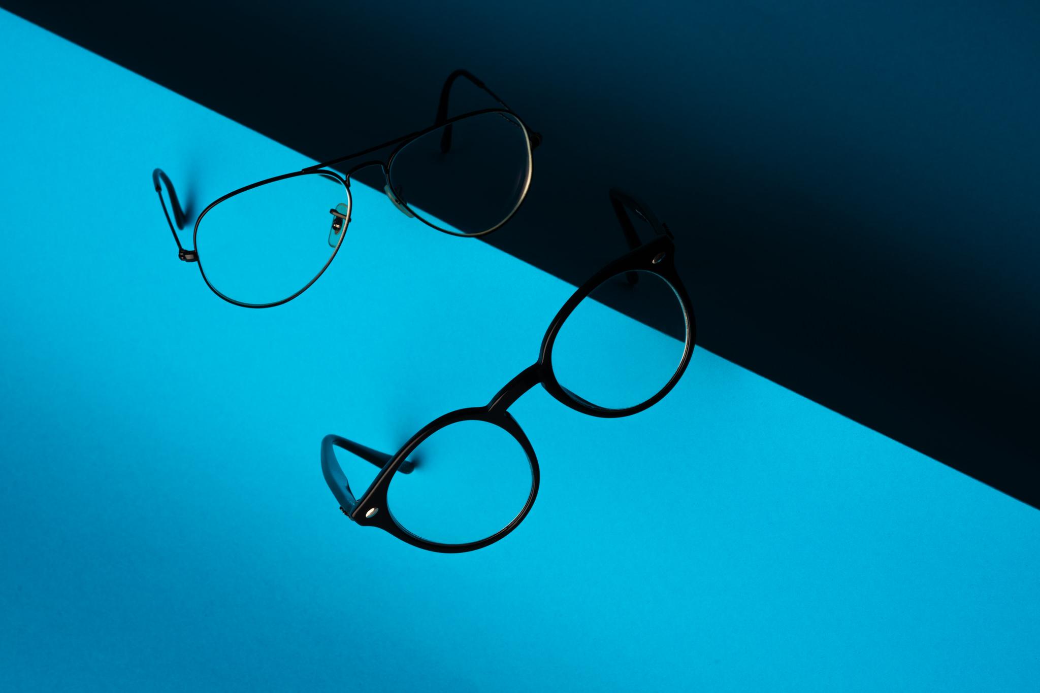 productfoto van brillen