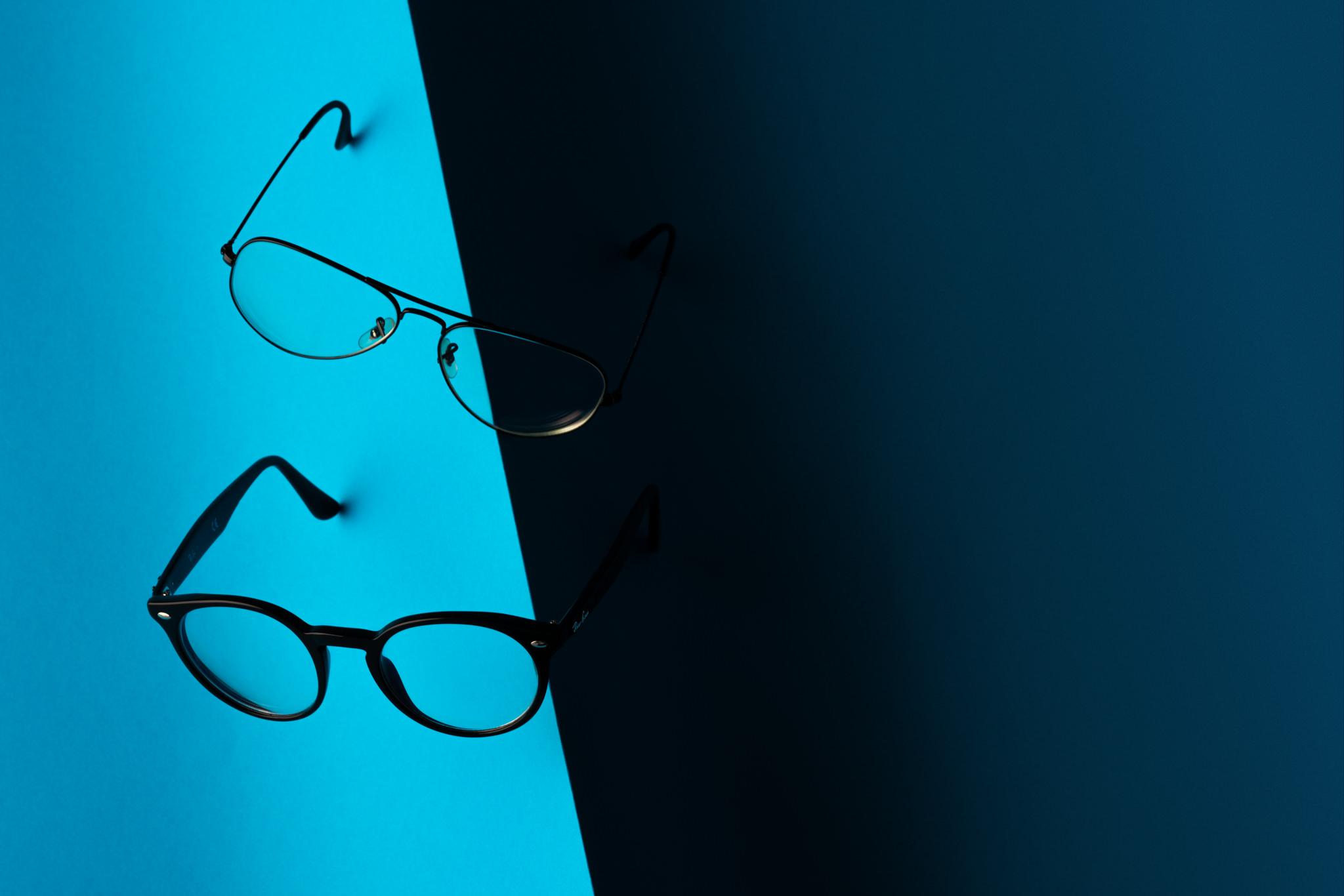 productfoto van brillen monturen