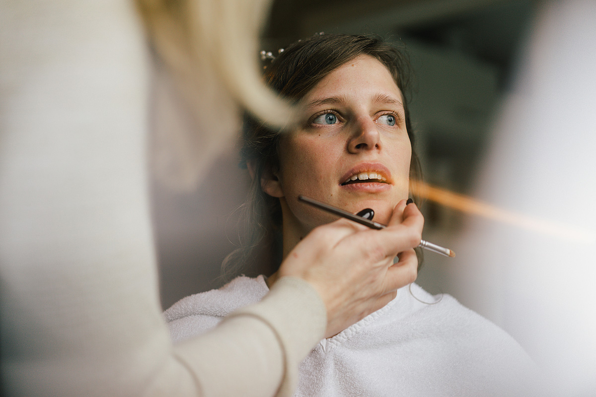bruid makeup